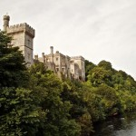 Lismore Castle on the banks of the River Blackwater.