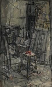 Alberto Giacometti Pommes Dans L'atelier 1950 ($3.5-5 million).
