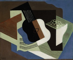 Juan Gris Guitare et compotier 1919 ($2-3 million)