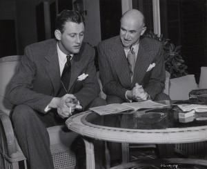 Samuel Goldwyn senior and junior