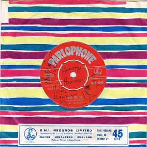 The Beatles - Love me Do, signed Parlophone single (2,500-3,000).