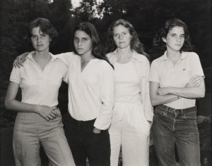 The Brown sisters in 1975.