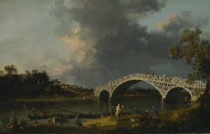 Canaletto, A View of Walton Bridge Dulwich Picture Gallery