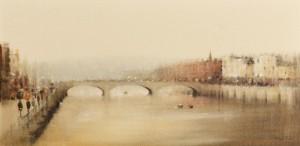 Anthony Robert Klitz (1917-2000) British St. Patrick's Bridge, Cork (1,000-1,500).