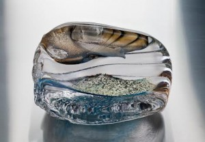 Killian Schurmann - hot sculpted glass.