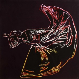 Andy Warhol (1928-1987) Martha Graham:  Letter to the World (The Kick).
