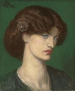 Dante Gabriel Rossetti (1828-1882) Beatrice: A portrait of Jane Morris (£700,000-1 million).