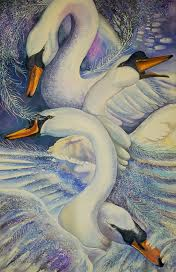 The Wild Swans at Coole by Kate Bedell