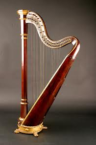 The Harp given to Maud Gonne by W.B. Yeats.