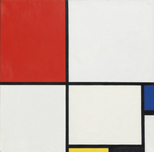 Piet Mondrian (1872-1944), Composition No. III (Composition with Red, Blue, Yellow and Black), 1929. ($15-25 million).