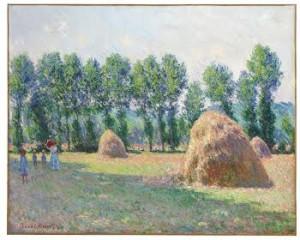 Claude Monet (1840-1926) Les meules à Giverny ($12-18 million) © Christie's Images Limited 2015