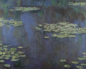 Nympheas (Water Lilies) by Claude Monet.