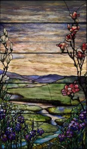 Tiffany Studios River of Life Window, (1915) ($200,000-300,000).