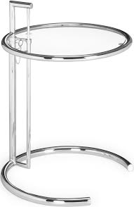 One of a pair of Eileen Gray e1027 tables.
