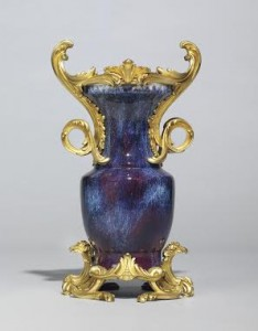 A VASE MADE FOR LOUIS XV'S FINANCE MINISTER (£600,000-1 MILLION)
