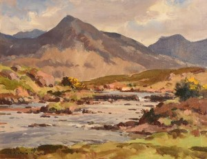 Maurice Canning Wilks ARHA RUA (1911-1984) Ballynahinch River, Connemara  (2,000-3,000).