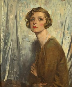 Sir William Orpen RA RI RHA (1878-1931) GLADYS COOPER SOLD FOR 175,000