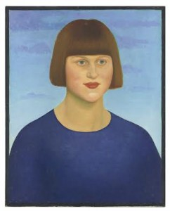 Mark Gertler (1891-1939) - Portrait of Dora de Houghton Carrington. Courtesy Christie's Images Ltd.