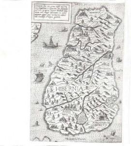 Antonio LaFreri - Rome Hibernia Sive Irlanda first published in 1560 (6,000-8,000).
