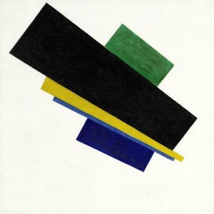 Kazimir Malevich (1879-1935) Suprematism, 18th Construction