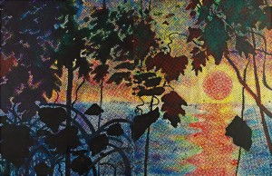 Sigmar Polke - Dschungel (Jungle), sold for a new record of $27,130,000