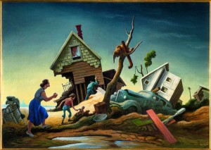 Thomas Hart Benton - Flood Disaster