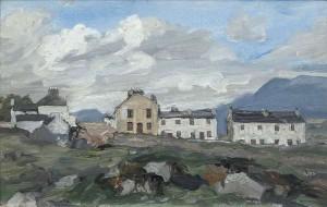 ack Butler Yeats RHA (1871 - 1957) Roundstone, Connemara (1916)