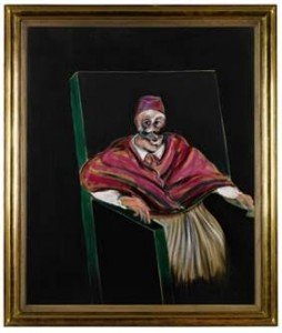 Francis Bacon - Study for a Pope  1.