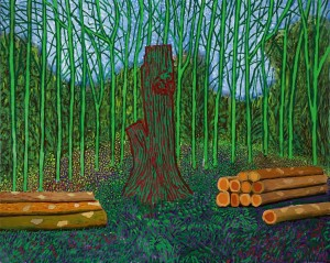 David Hockney ARRANGED FELLED TREES Estimate: £1,500,000 — 2,000,000