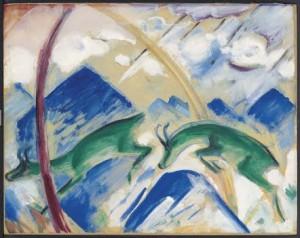 Franz Marc (1880-1916) Gemsen (£1.8-2.5 MILLION) © Christie's Images Limited 2015
