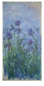 Claude Monet (1840-1926) Iris mauves