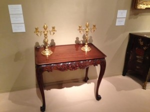 An Irish George II side table at Frank Patridge (£65,000).