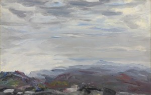 Jack Butler Yeats, R.H.A. (1871-1957) The Tops of the Mountains