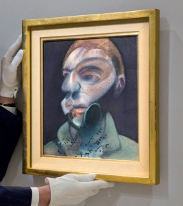 Francis Bacon - Self-Portrait 1975 sold for £15.3 million..