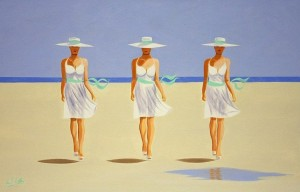 Ken O'Neill - Elegance on a Beach (500-800).