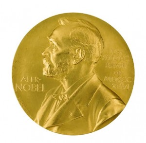 The Nobel Prize awarded to Sir Hans Krebs in 1953.