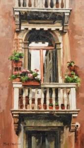 Mark O'Neill (b.1963) The Balcony  (1,500-2,000).