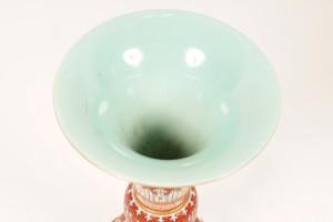 Vase (detail).
