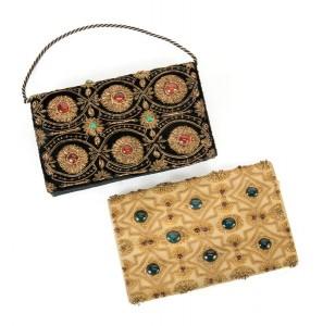 Embellished evening bags ($100-200)