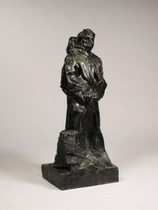 Auguste Rodin, Balzac en robe de dominic