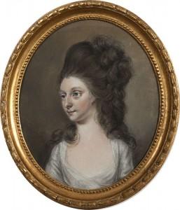 HUGH DOUGLAS HAMILTON RHA (1734-1808) Viscountess Lifford (4,000-6,000)
