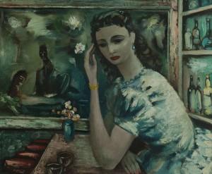 Daniel O'Neill (1920-1974) Barmaid (20,000-30,000)