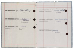 beatles contract 4