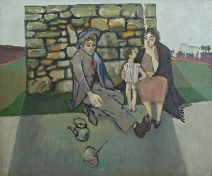 Gerard Dillon (1916-1971)Resting Tinkers (20,000-30,000)
