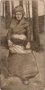 Woman With Fagots by Paul Henry (15,000-25,000).