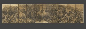 Daniel Maclise, R.A.  Cartoon for 'The Meeting of Wellington and Blücher After the Battle of Waterloo'  1858-1859 © Royal Academy of Arts, London; Photographer: Prudence Cuming Associates Limited