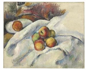Paul Cezanne - Pommes sur un ligne ($7-10 million)