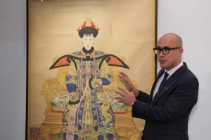 An Imperial Painting of Chunhui, the Qianlong Emperor's favourite Consort, by Court Artist Giuseppe Castiglione sold for US$17.6 million.