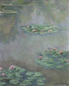 Nymphéas - Claude Monet ($30-50 million)