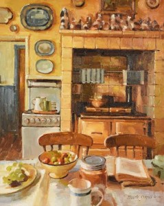 Mark O'Neill (b.1963) The Busy Kitchen (4,000-6,000)